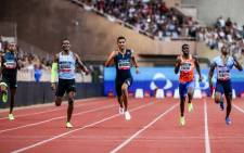 Olympic and world champion Wayde van Niekerk in action at the Monaco Diamond League. Picture: Twitter/@Diamond_League.