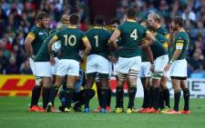 FILE: Springboks team. Picture: South African Rugby @Springboks.