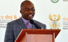 Minister of Department of Justice and Constitutional Development Michael Masutha. Picture: GCIS.