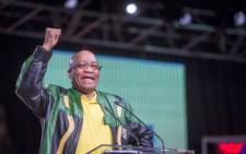 FILE: President Jacob Zuma makes his address at the final plenary on 5 July 2017. Picture: Thomas Holder/EWN