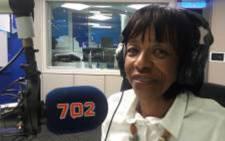 ANC veteran and former deputy secretary-general Cheryl Carolus. Picture: Radio 702