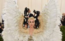 Katy Perry arrives for the 2018 Met Gala on 7 May 2018, at the Metropolitan Museum of Art in New York. The Gala raises money for the Metropolitan Museum of Art's Costume Institute. Picture: AFP