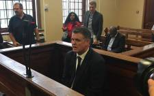 FILE: Jason Rohde pictured in the Stellenbosch Magistrates Court on 27 January 2016. Picture: EWN.