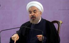 FILE: Iranian President Hassan Rouhani. Picture: AFP