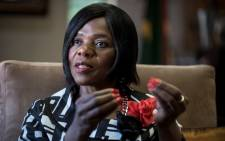 Public Protector Thuli Madonsela. Picture: AFP.