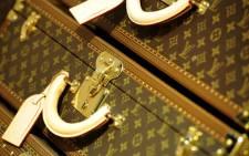 Louis Vuitton bags. Picture: AFP