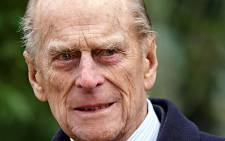 FILE: Britain's Prince Philip. Picture: AFP.