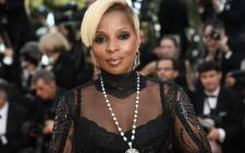 FILE: US singer/songwriter Mary J Blige. Picture: AFP.