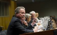 David Beasley, Executive Director of the World Food Programme (WFP), addresses the High-level event on famine response and prevention. Picture: United Nations
