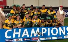 The Baby Proteas were victorious at the 2014 ICC Under 19 World Cup. Picture: Facebook.