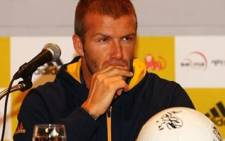 Soccer icon David Beckham. Picture; Gallo Images/WireImage