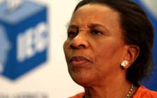 Dr Brigalia Bam, Chairperson of the Independant Electoral Commission. Picture: Werner Beukes/SAPA