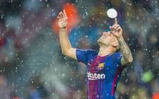 Barcelona FC's Paco Alcacer . Picture: @FCBarcelona.