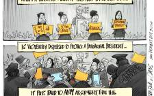 [Cartoon] Echo of a #SilentProtest