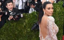 Kim Kardashian at the 2015 Metropolitan Museum of Art's Costume Institute Gala benefit on 4 May in New York. Picture: AFP.