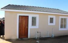 FILE: RDP house ready to be handed over to the owner in Pretoria. Picture: GCIS