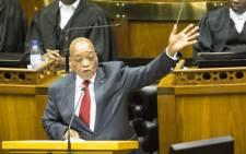 President Jacob Zuma: Picture: EWN.