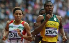 Caster Semenya came second in her heat in the 800m womens race in the Olympics, qualifying for the semi-final. Picture: Wessel Oosthuizen/SA Sports Picture Agency.