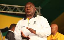 ANC Deputy President and businessman Cyril Ramaphosa at the party's Mangaung Conference. Picture: Taurai Maduna/EWN.