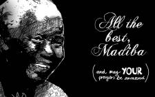 All the best, Madiba