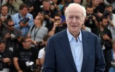 British actor Michael Caine poses during a photocall for the film 'Youth' at the 68th Cannes Film Festival in Cannes on May 20, 2015. Picture: AFP.