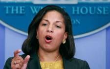 FILE: US national security adviser Susan Rice. Picture: Facebook