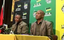 ANC's Jackson Mthembu. Picture: EWN