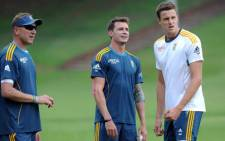 Proteas' bowling coach Allan Donald, Dale Steyn and Morne Morkel. Picture: Facebook.