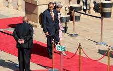 FILE: Swaziland's King Mswati III arrives at the Union Buildings for the inauguration of President Jacob Zuma on 24 May, 2014. Picture: EWN.