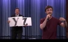 Daniel Radcliffe rapping on Jimmy Fallon. Picture: Youtube.