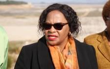 FILE: Water and Sanitation Minister Nomvula Mokonyane. Picture: Bertram Malgas/EWN