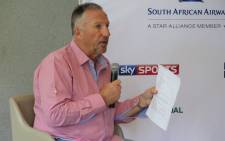 FILE: Legendary former English test cricketer Sir Ian Botham. Picture: Louise McAuliffe/EWN