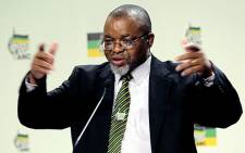ANC Secretary General Gwede Mantashe has condemned an attack on an ANC truck. Picture: Sebabatso Mosamo/EWN.