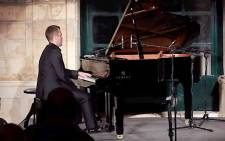 Pianist Nicholas McCarthy.