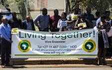 Friends and colleagues are demanding justice for PhD student Baraka Nafari after he was run over by a taxi. Picture: Kayleen Morgan /EWN
