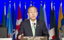 UN Secretary-General Ban Ki Moon. Picture: The United Nations.