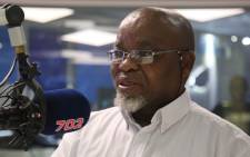 African National Congress (ANC) secretary-general Gwede Mantashe was speaking on Radio 702 on Tuesday morning. Picture: 702