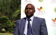 Hawks Spokesperson Hangwani Mulaudzi. Picture: Radio 702.
