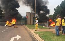 The Tshwane University of Technology (TUT)'s Pretoria Campus has been shut down due to overnight protests on 15 February 2017. Picture: EWN