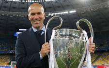 Zinedine Zidane. Picture: @realmadridfra/Twitter