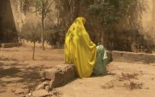 A woman who told Amnesty International that she was abused by the Nigerian army during its fight against Islamist insurgency Boko Haram is pictured in Maiduguri in February 2017. Picture: Amnesty International via Reuters