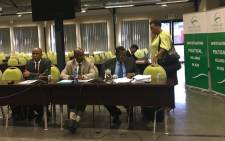 SAPS officials are concluding its oral presentations at the Moerane Commission as it faces allegations of complicity in crimes and murders in particular. Picture: Ziyanda Ngcobo/EWN.