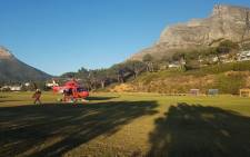ER24 paramedics rescued three men who got lost on Table Mountain on 14 December 2017. Picture: @ER24EMS/Twitter