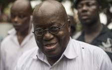 Ghana's president elect Nana Akufo-Addo. Picture: AFP.