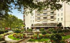 A general view of London's Dorchester Hotel. Picture: @TheDorchester/Twitter.