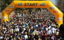 Nearly 50,000 participants took to the streets of Johannesburg on Sunday to raise awareness about various issues, including cancer, economic equality and media freedom, in the 2017 MTN Walk the Talk with 702.