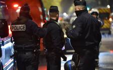 French police. Picture: AFP.