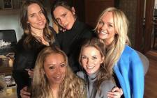 Victoria Beckham shared this picture on Instagram with her fellow Spice Girl members.