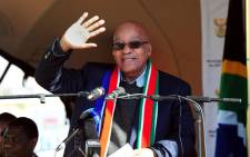 FILE: President Jacob Zuma says SA has a good story to tell but EFF leader Julius Malema disputes this. Picture: GCIS