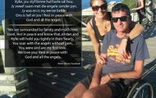 Joost van der Westhuizen's estranged wife reacted to his death on Facebook yesterday, saying that he was and is her first love.